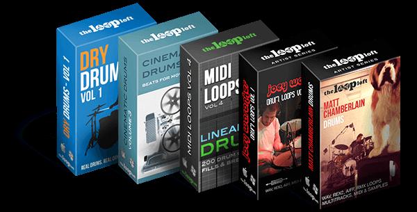 Loop Loft Drum Loop and MIDI