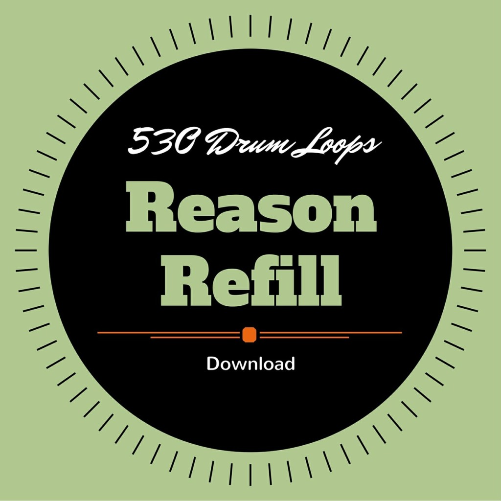 530 Free Drum Loops for Reason Free Reason Refill