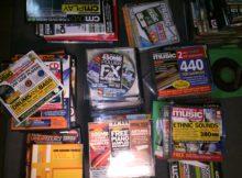 Sample Packs -Computer Music, Future Music, and Music Tech Magazines